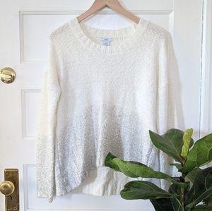 bar iii glitter speckle sweater